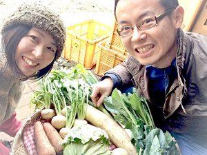 私たちが、あるまま農園の野菜を作っています。